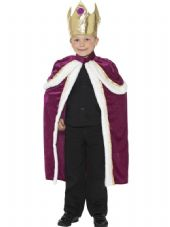 Childs Kiddy King Costume